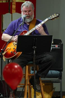 Bruce Jackson with Guitar, 2007
